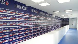 Sala conferenze Mixed Zone al Dall'Ara